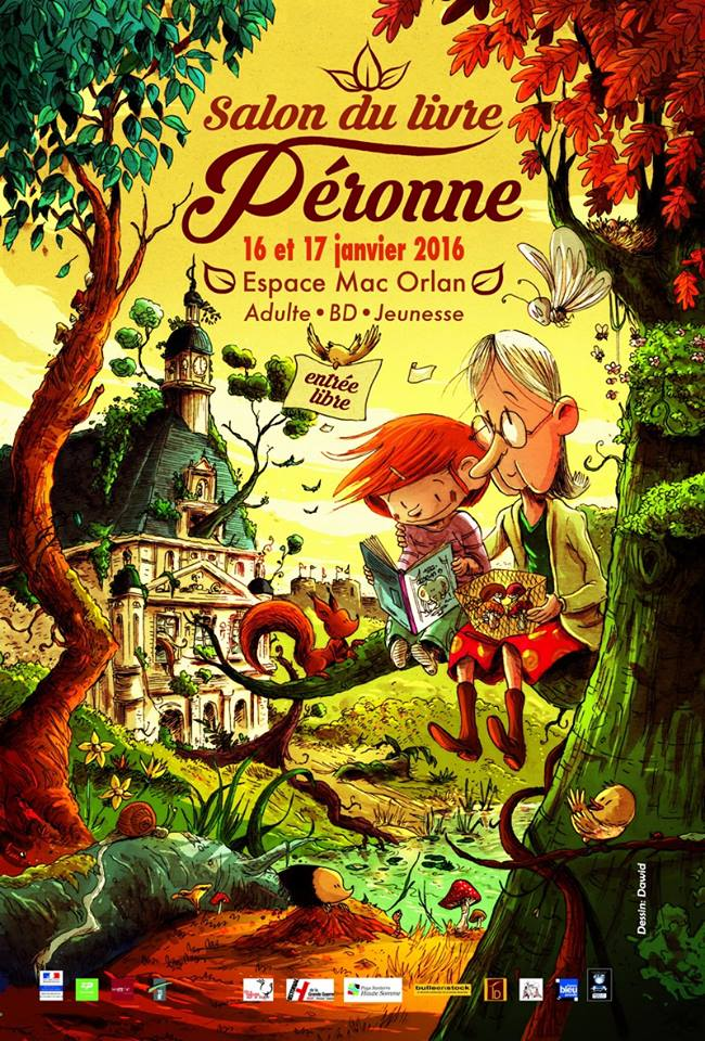 Affiche du salon de Péronne par Dawid