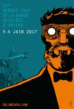 Affiche 22e Rendez-Vous de la Bande Dessinée d'Amiens