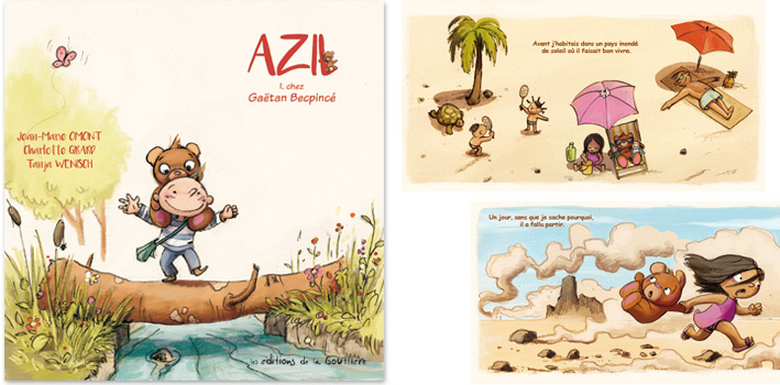 Azil chez Gaëtan Becpincé, tome 1, par Jean-Marie Omont, Charlotte Girard et Tanja Wenisch