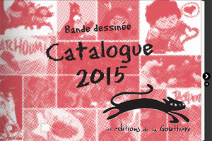 Catalogue 2015 des éditions de la Gouttière