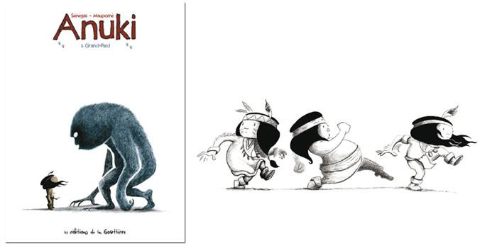 Anuki tome 5, Grand-Pied, par Frédéric Maupomé et Stéphane Sénégas