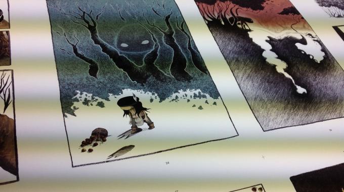 Le 19 juin, ce sera la sortie en librairie du tome 5 d'Anuki intitulé Grand-Pied ! Quelques photos de l'impression avant la parution officielle !