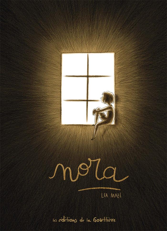 Nora par Léa Mazé, éditions de la Gouttière