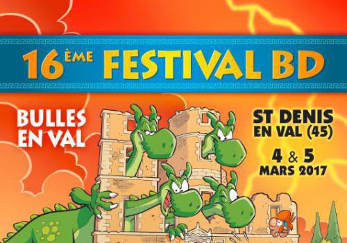 Festival à Saint Denis en Val avec Dawid en dédicace