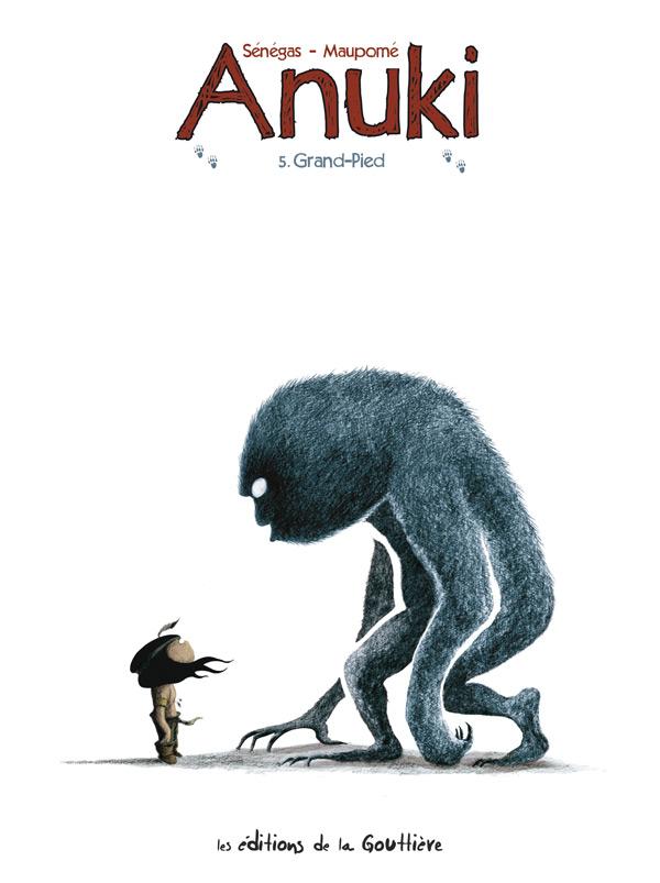 Anuki tome 5, Grand-Pied, par Frédéric Maupom et Stéphane Sénégas