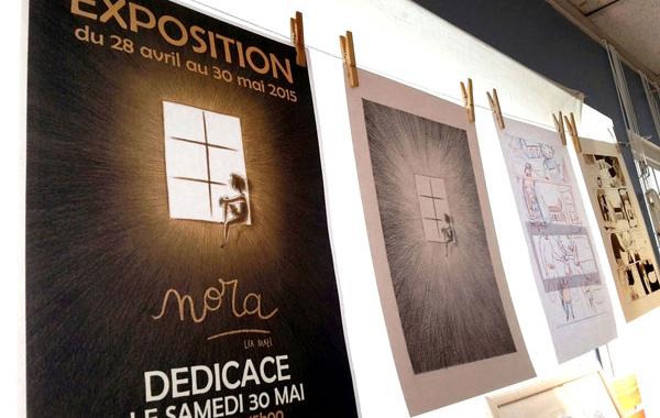 Rendez-vous jusqu'au 30 mai à la librairie Pages d'encre pour découvrir les planches originales de Léa Mazé !