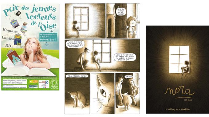 Nora sélectionné pour le prix des jeunes lecteurs de l'Oise !