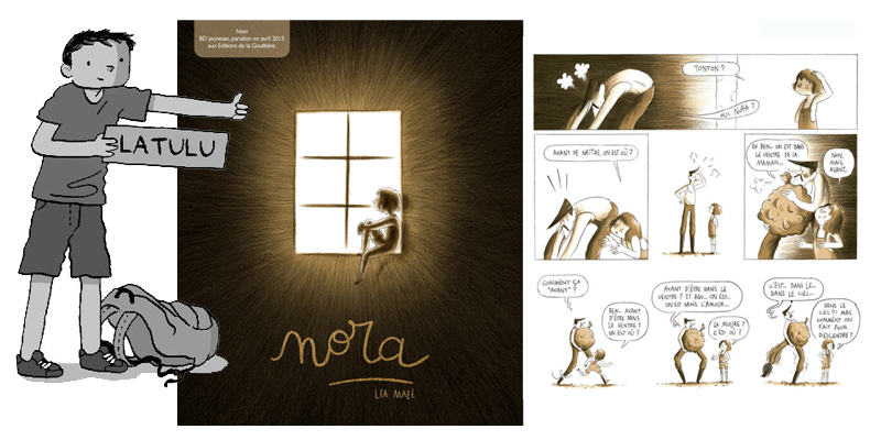 Nora de Léa Mazé pour le prix Latulu