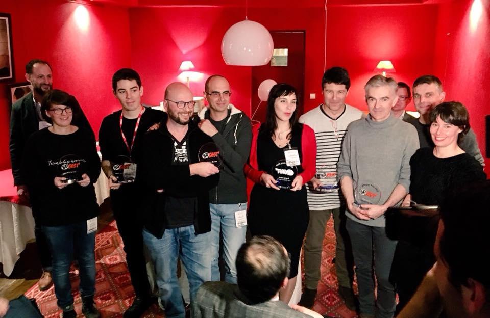 Prix du jury BDGest'Arts