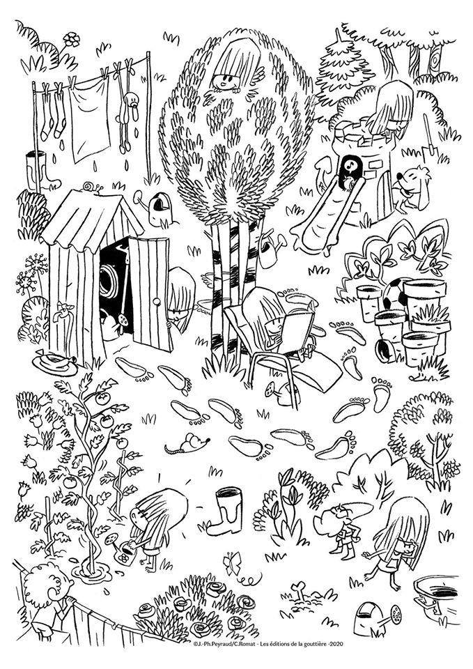 Autour des livres - Jeux et Activités | Éditions de la Gouttière
